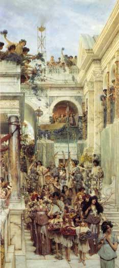 Spring, Sir Lawrence Alma-Tadema