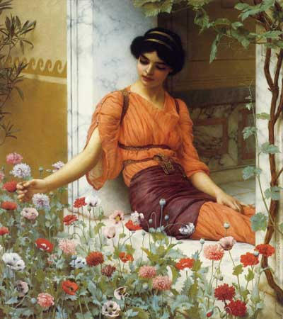 Summer Flowers, John William Godward