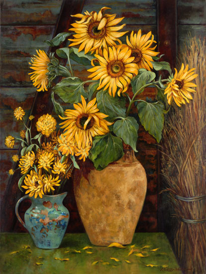 Sunflowers, Linda Evanglyn Wallace