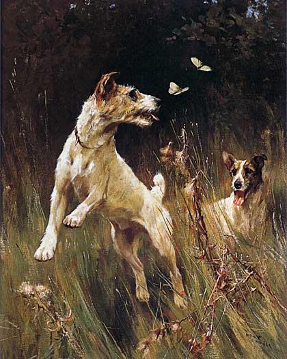 Terriers & Butterflies, Arthur Wardel