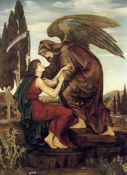 The Angel of Death, Evelyn de Morgan