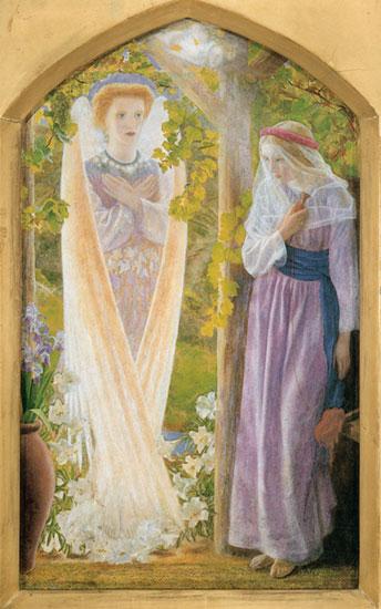 The Annunciation, Arthur Hughes