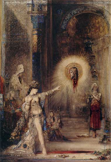 The Apparition, Gustave Moreau