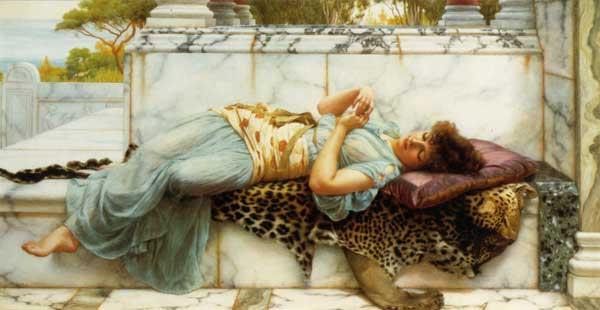 The Betrothed, John William Godward