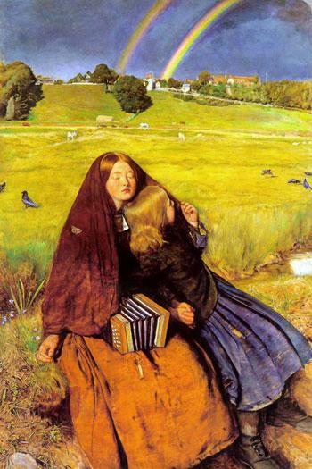 The Blind Girl, Sir John Everett Millais