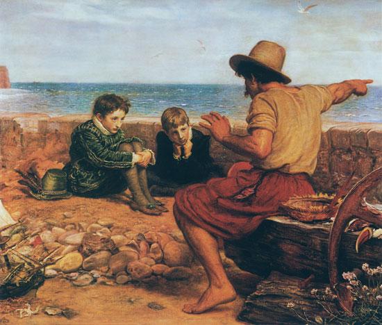 The Boyhood of Raleigh, Millais