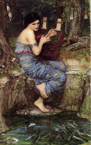 The Charmer. John William Waterhouse