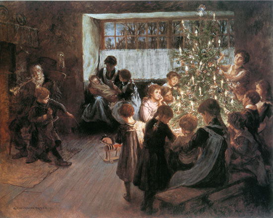 The Christmas Tree, Taylor
