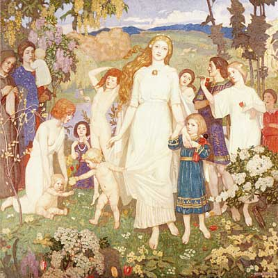 The Coming of Bride, John Duncan