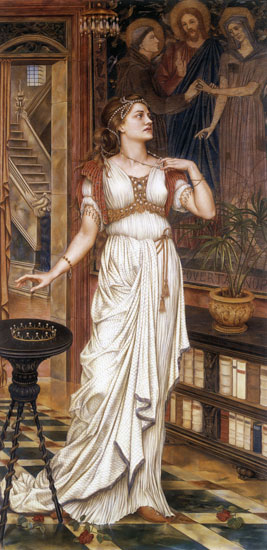 The Crown of Glory, Evelyn De Morgan
