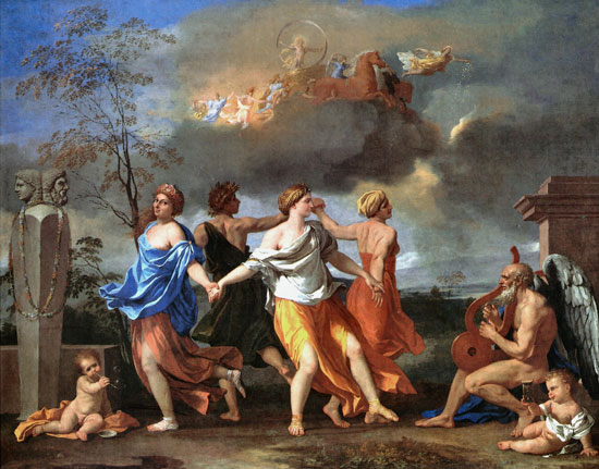 The Dance to the Music of Time, Nicolas Poussin