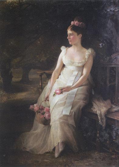 The Debutante, Edward Robert Hughes