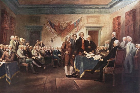 The Declaration of Independence, Trumbull