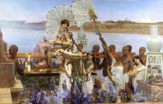 The Finding of Moses, Sir Lawrence Alma-Tadema