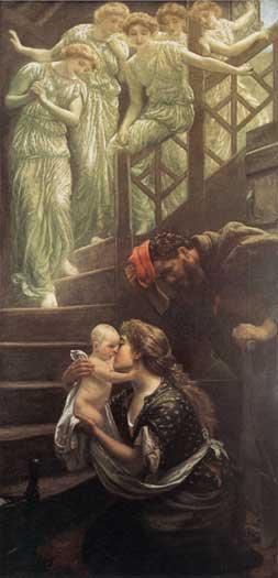 The Heavenly Stair, Arthur Hughes