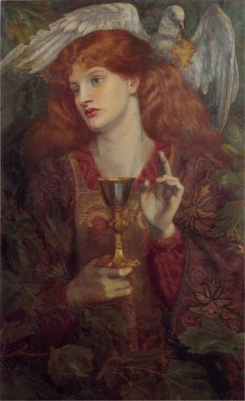 The Holy Grail, Dante Gabriel Rossetti