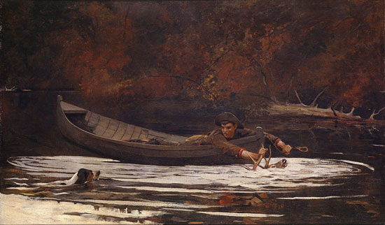 The Hound and the Hunter, Winslow Homer