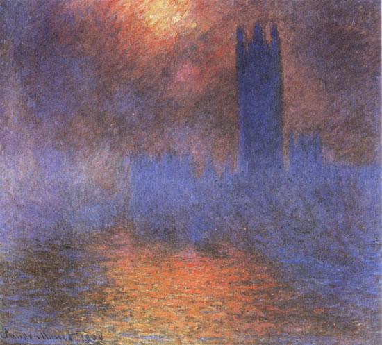 The Houses of Parliment, Claude Monet,canvas