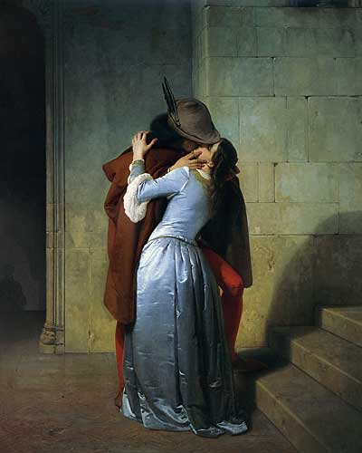 The Kiss, Francesco Hayez