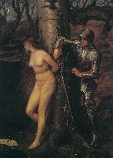 The Knight Errant, Sir John Everett Millais