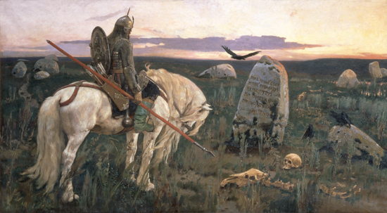 The Knight at the Crossroads, Victor Mikhailovich Vasnetsov