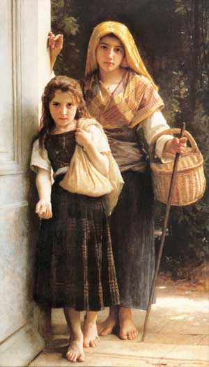 The Little Beggars, William-Adolphe Bouguereau
