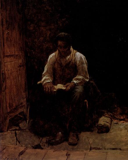 The Lord is My Shepherd, Eastman Johnson