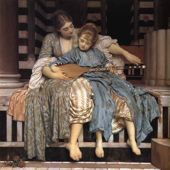The Music Lesson, Fredric, Lord Leighton