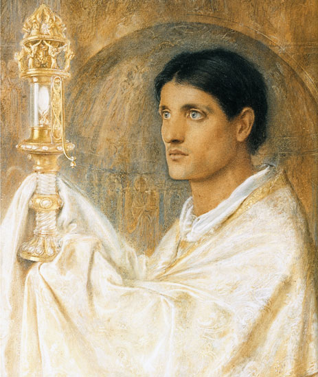 The Mystery of Faith, Simeon Solomon
