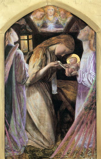 The Nativity, Arthur Hughes