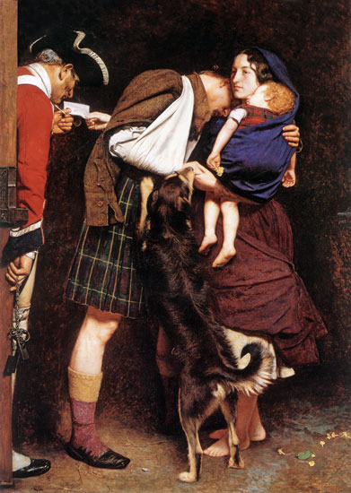 The Order of Release, Sir John Everett Millais