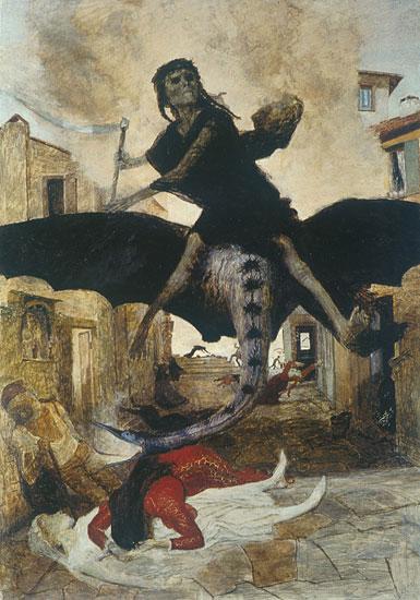 The Plague, Arnold Böcklin