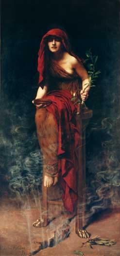 The Priestess of Delphi, Hon. John Collier