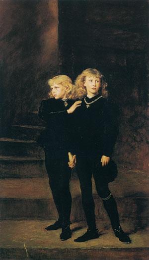 The Princes in the Tower, Sir John Everett Millais
