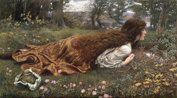 The Princess out of School, Edward Robert Hughes