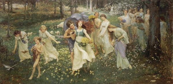 The Progress of Spring, Charles Daniel Ward
