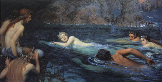 The Race with Mermaids and Tritons, Smithers