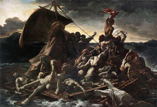 The Raft of the Medusa, Gericault