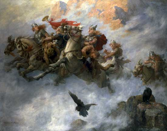 The Ride of the Valkyries, William T. Maud