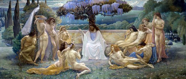 The School of Plato, Jean Delville
