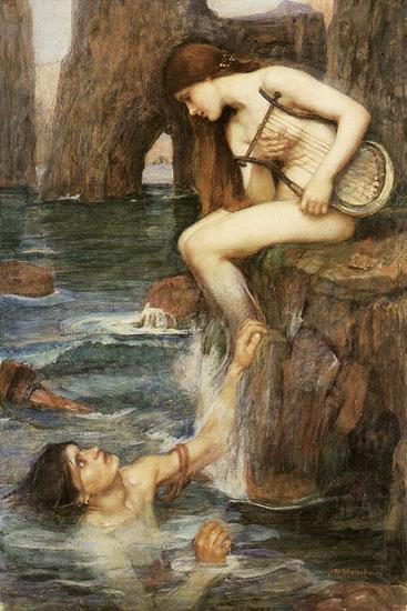 The Siren, John William Waterhouse
