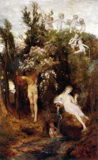 The Source of Spring, Arnold Böcklin
