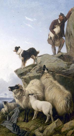 The Stray Lamb, Ansdell