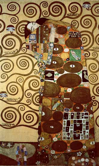 The Tree of Life, Left, Gustav Klimt