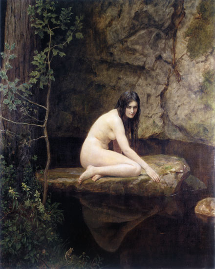 The Water Nymph, Collier