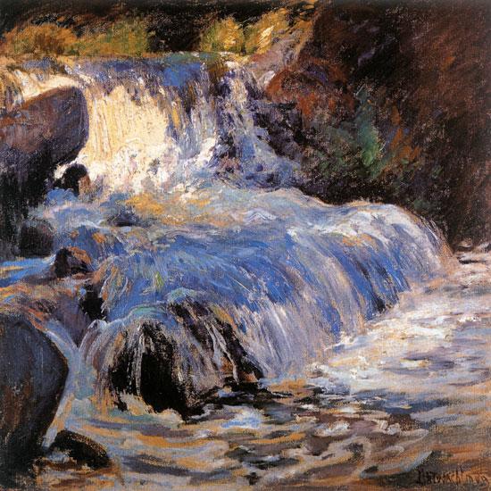 The Waterfall, John Henry Twachtman