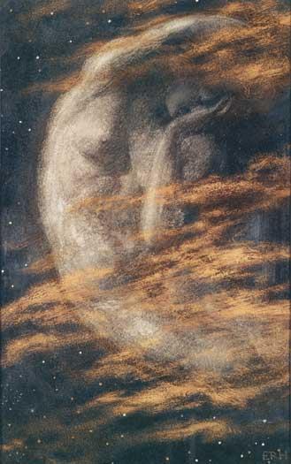 The Weary Moon, Edward Robert Hughes