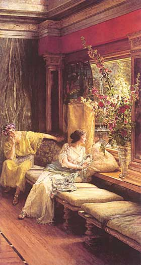 Vain Courtship, Sir Lawrence Alma-Tadema