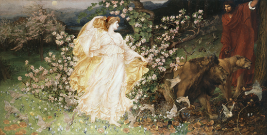 Venus and Anchises, Sir William Blake Richmond