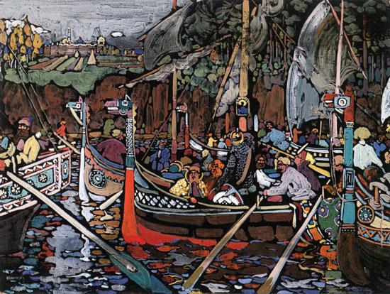 Volga Song, Wassily Kandinsky